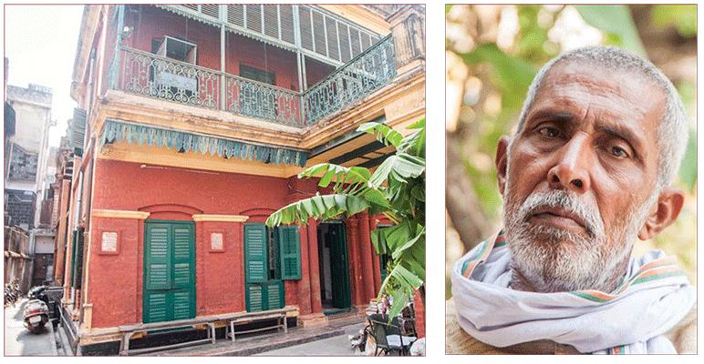 """Bhairav Nath Shukla e o """"hotel da morte"""" fotos Hinduism Today"""