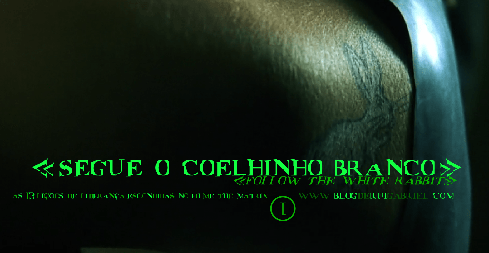 "1- ""Follow The White Rabbit"" (""Segue o coelhinho branco"")"