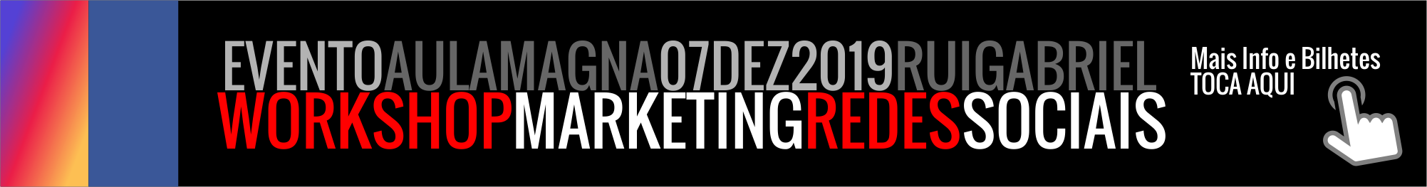 Workshop MARKETING REDES SOCIAIS
